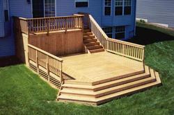 8' x 16' Upper Deck w/ 16' x 16' Main Deck