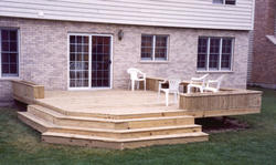 14' x 14' Planter Box Deck