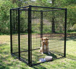 5' x 6' x 5' Powder-Coated Kennel
