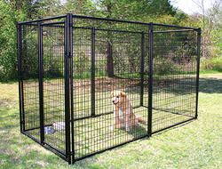 5' x 6' x 10' Powder-Coated Kennel