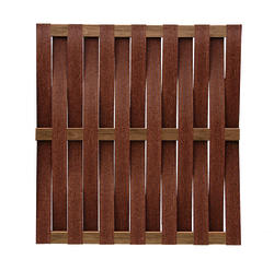 Midwest Manufacturing 6' x 6' Basket Weave Composite Fence