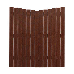 Midwest Manufacturing 6' x 6' Scalloped Composite Fence