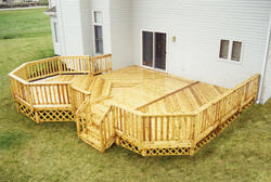 18' x 20' Main Deck and 12' x 12' Elevated Octagon