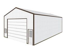 30'W x 54'L x 16'H Garage