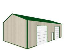 30'W x 54'L x 14.5'H Garage