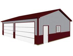 28'W x 38'L x 9.5'H Garage