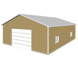 "36'W x 48'L x 12'4""H Hobby Buildings"