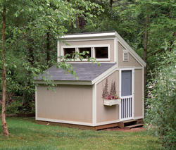 The Maxine 10'W x 10'D Garden Clerestory Shed