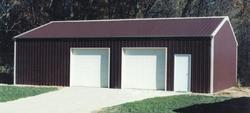26'W x 45'L x 10'H Garage