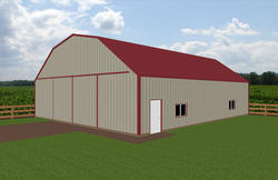40'W x 48'L x 12'H Agricultural