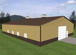 60'W x 80'L x 14'H Workshop