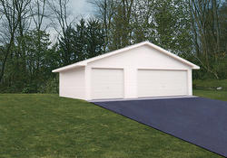 30'W x 32'L x 8'H Garage with Steel Roof
