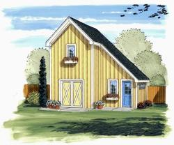 The Vernon 22'W x 16'D x 9'H Garden Shed