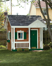 The Merrill 8'W x 8'D Playhouse