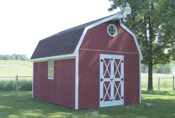 The Marianna 12'W x 12'D Barn-Style Shed