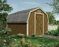 The Carmen Cove 10'W x 12'D Yard Barn