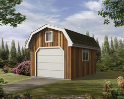 The Marcella 12'W x 16'D Storage Shed