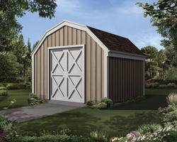The Marcia 12'W x 8'D Barn Storage Shed