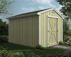 The Blondell 10'W x 12'D Gable Storage Shed