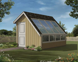 The Maude 10'W x 12'D Garden Storage Building