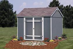 Ellington 10'W x 8'D Yard Building