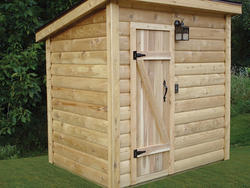 5'W x 7'D Sauna with Heater