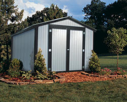 Midwest Manufacturing E-Z Build 10'W x 10'D Gable Storage Building