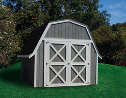 Midwest Manufacturing E-Z Build 12'W x 16'D Gambrel Storage Building