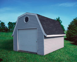 Midwest Manufacturing E-Z Build 10'W x 16'D Gambrel Storage Building
