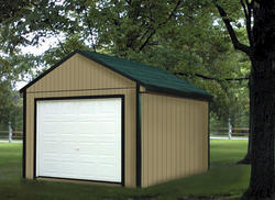Midwest Manufacturing 12'W x 16'D Gable Storage Building