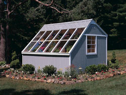 Handy Home Phoenix 10'W x 8'D Precut Solar Shed