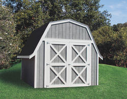 Midwest Manufacturing EZ Build 12'W x 16'D Gambrel Storage Building