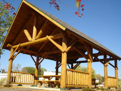 8' x 16' Picnic Shelter