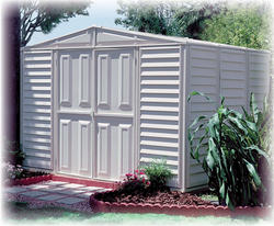 DuraMax Woodbridge 10'W x 8'D Storage Building with Floor