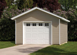 14' x 20' x 8' 1-Car Mini Low Maintenance Garage