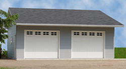 22' x 24' x 10' 2-Car Low Maintenance Garage