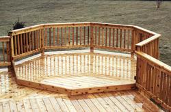 8' Octagon Deck Addition