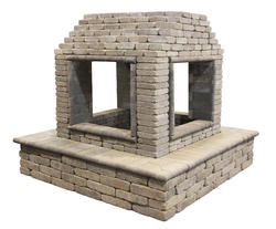 4-Sided Fireplace