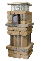 Stoneglass Tumbled Mailbox