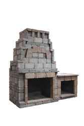 Webster Fireplace with 1 Woodbox