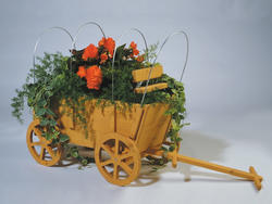 Covered Wagon Planter