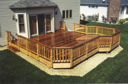 20' x 20' Leisure Deck w/ 10' Extended Bay Area