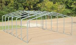 20'W x 27'L x 7.5'H Stor-Port Shelter Frame