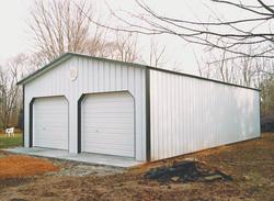 24'W x 36'L x 10'H Garage