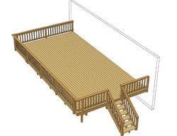 30' x 16' Single Level Deck