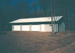 30'W x 54'L x 10'H Garage