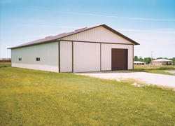 36'W x 63'L x 12'H Hobby Buildings