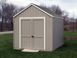 8'W x 12'D Gable Storage Building