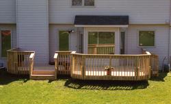 10' x 10' Area w/ 14' x 14' Main Deck