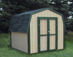 Midwest Manufacturing E-Z Build 8'W x 8'D Gambrel Storage Building